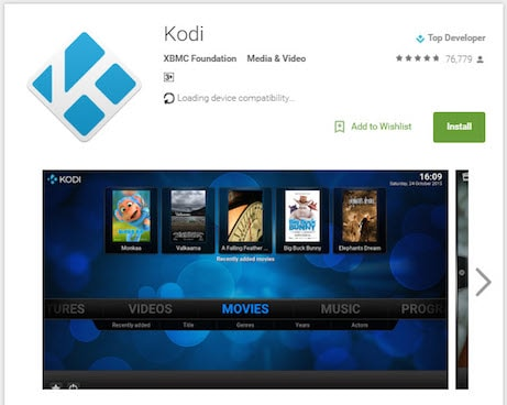 kodi 18 download android box